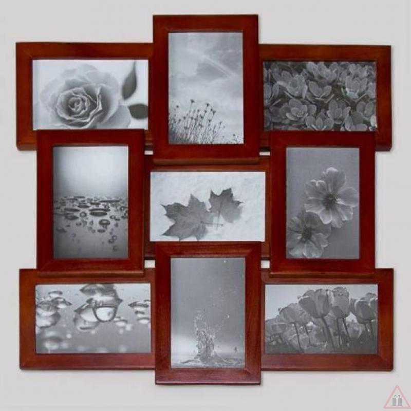 Рамки для фото на стену коллажи своими руками
