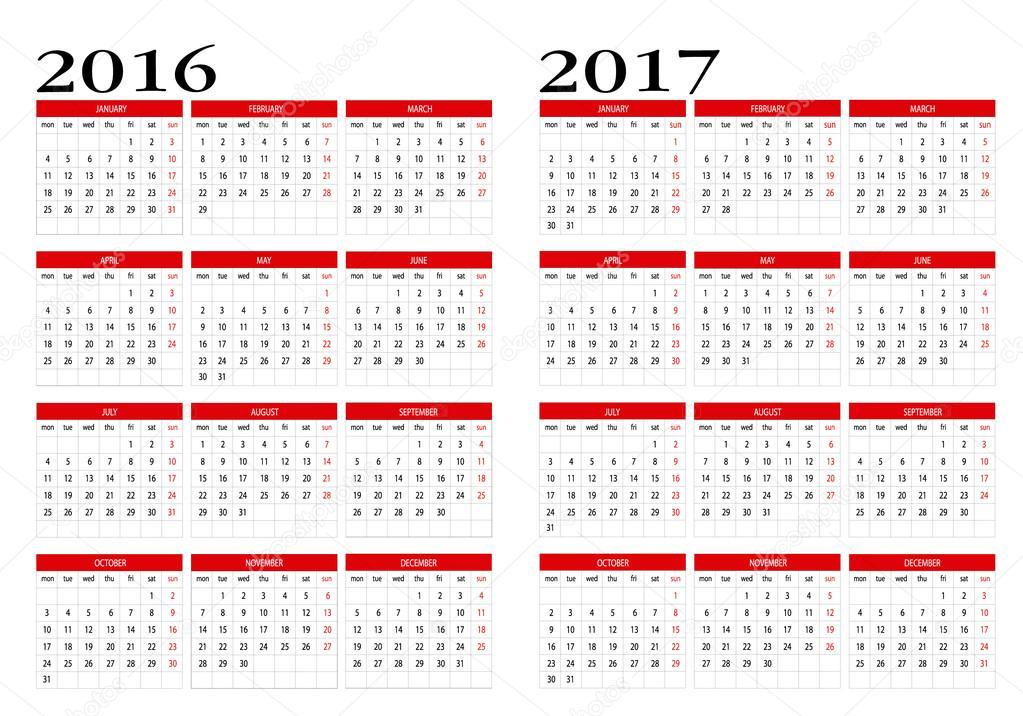 фото календарь 2016-2017